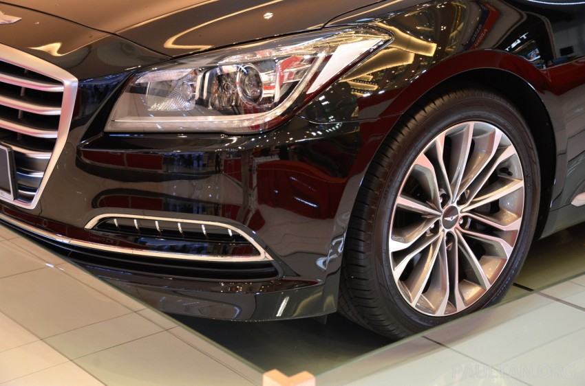 Hyundai Genesis previewed in Malaysia with 3.8L V6 Image #264643