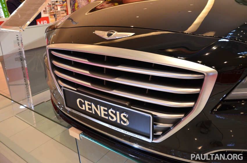 Hyundai Genesis previewed in Malaysia with 3.8L V6 Image #264639