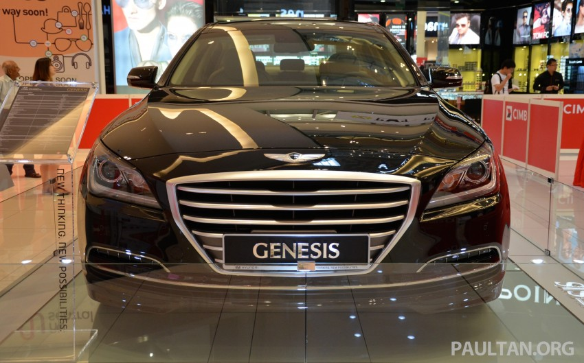 Hyundai Genesis previewed in Malaysia with 3.8L V6 Image #264641