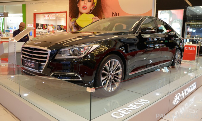 Hyundai Genesis previewed in Malaysia with 3.8L V6 Image #264637
