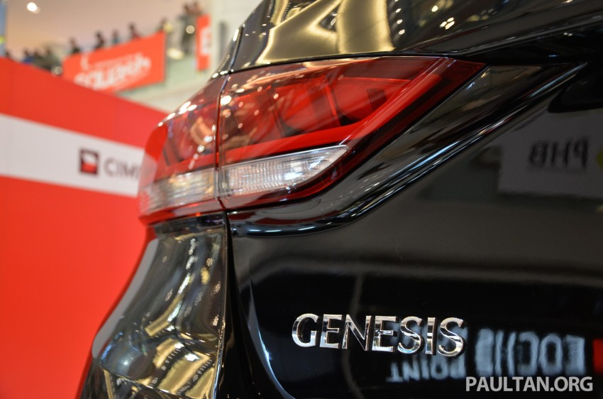 Hyundai Genesis previewed in Malaysia with 3.8L V6 Image #264655