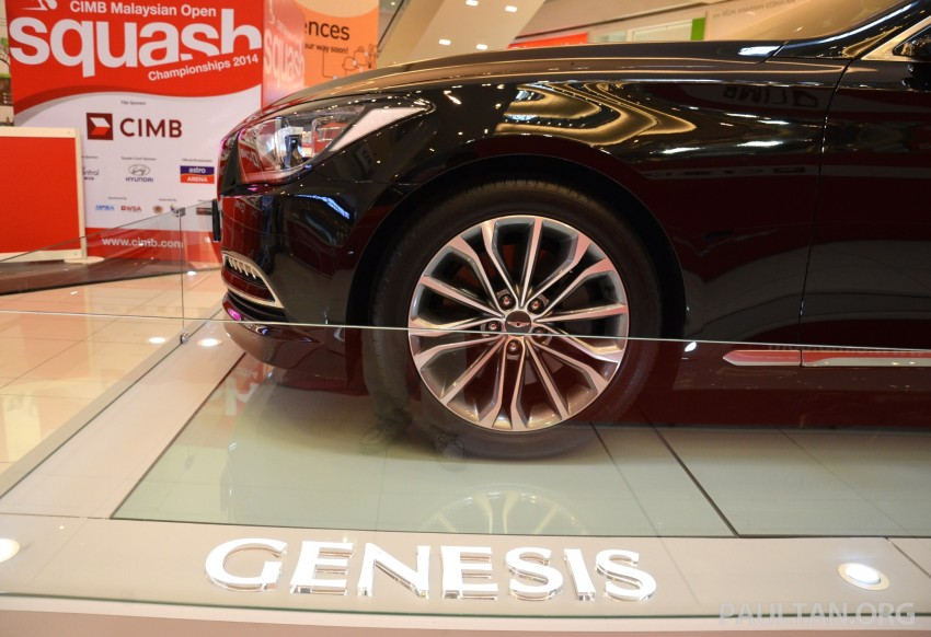 Hyundai Genesis previewed in Malaysia with 3.8L V6 Image #264634
