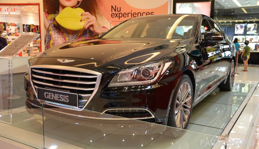 Hyundai Genesis previewed in Malaysia with 3.8L V6 Image #264635