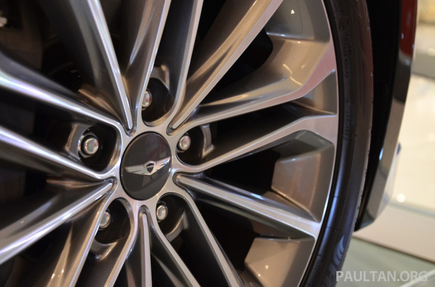 Hyundai Genesis previewed in Malaysia with 3.8L V6 Image #264625