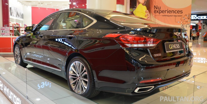 Hyundai Genesis previewed in Malaysia with 3.8L V6 Image #264653