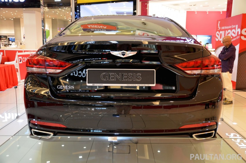 Hyundai Genesis previewed in Malaysia with 3.8L V6 Image #264648