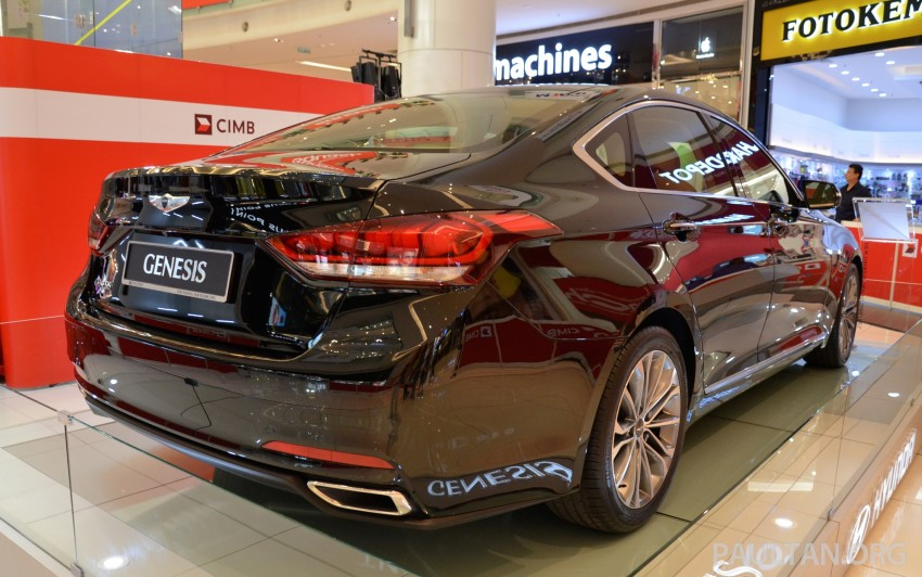 Hyundai Genesis previewed in Malaysia with 3.8L V6 Image #264645