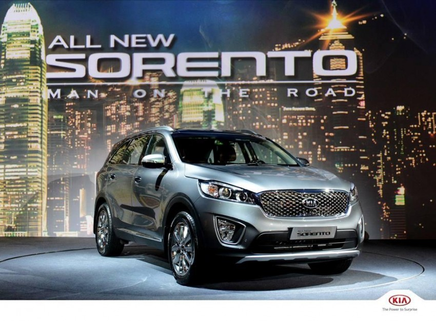 2015 Kia Sorento unveiled in South Korea – more pics! Image #267303
