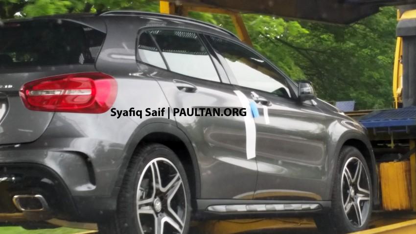 SPIED: Mercedes-Benz GLA 250 AMG Sport 4Matic Image #266705