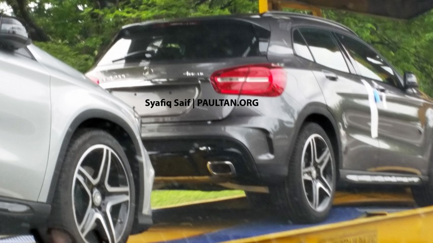 SPIED: Mercedes-Benz GLA 250 AMG Sport 4Matic Image #266706