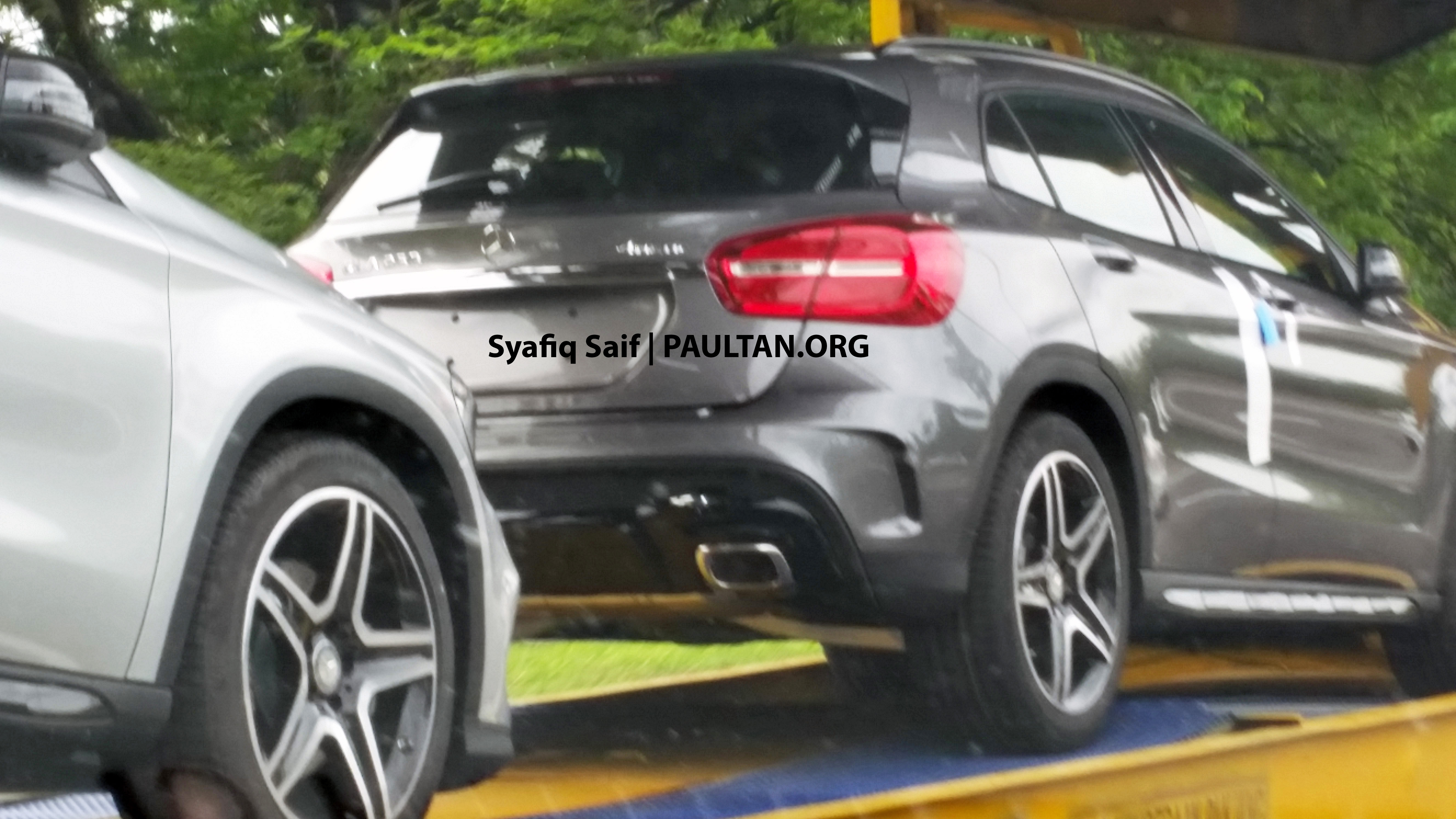 spied: mercedes-benz gla 250 amg sport 4matic image 266706