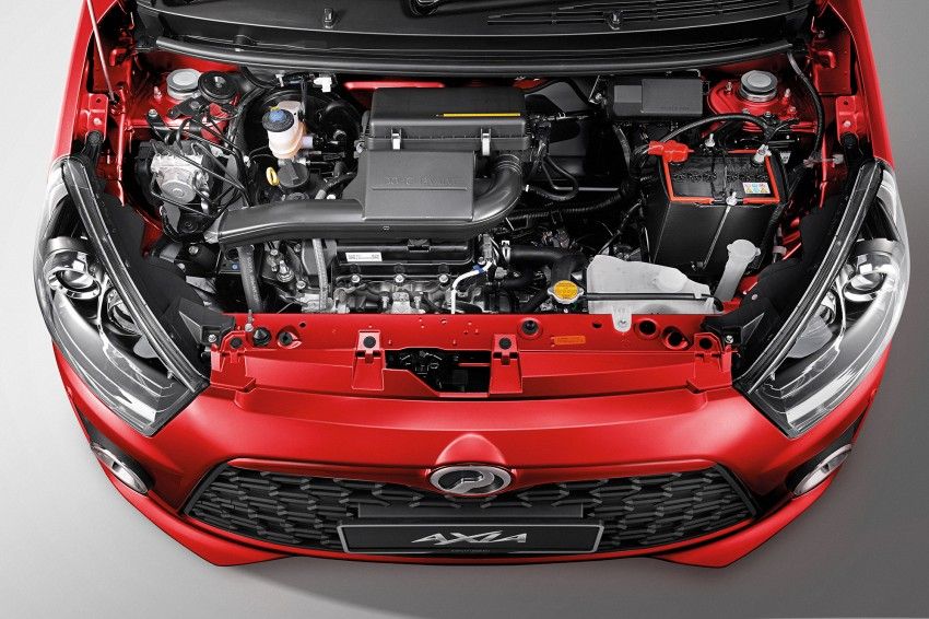 Perodua Axia – first official pic of Standard face Image #264224