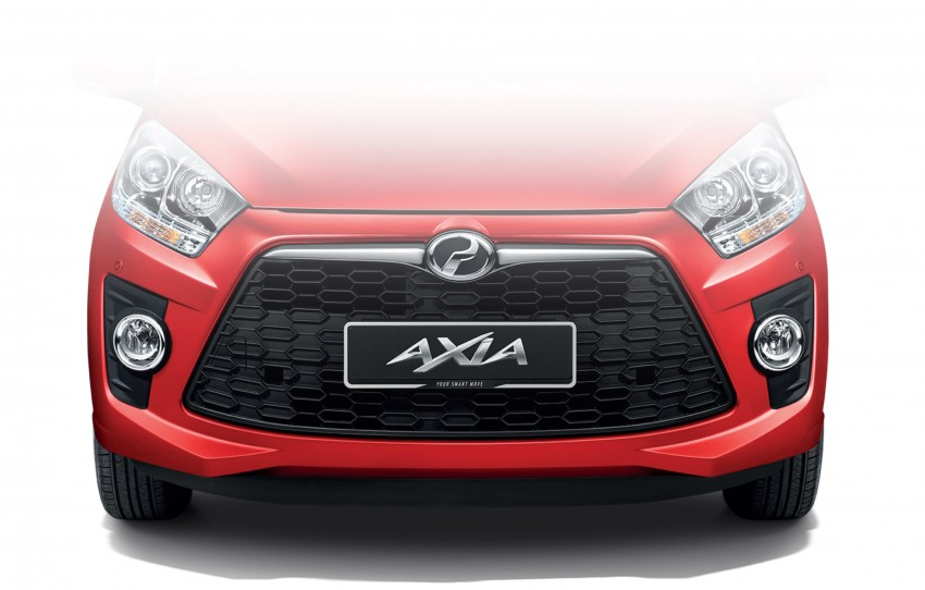 Perodua Axia – first official pic of Standard face Image #264225