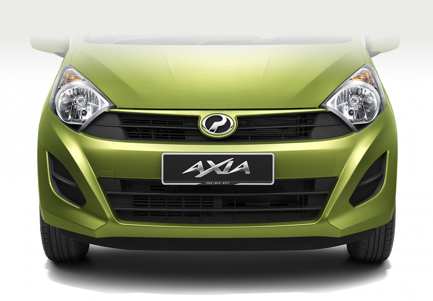Perodua Axia – first official pic of Standard face Image #264228