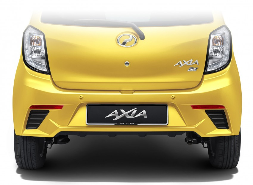 Perodua Axia – first official pic of Standard face Image #264226