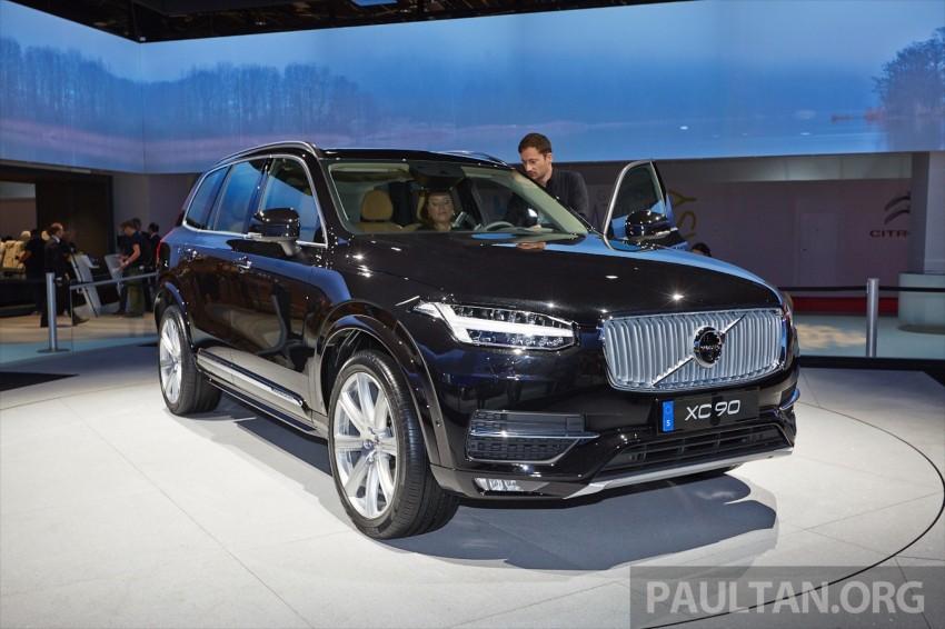 2015 Volvo XC90 – second-gen 7-seat SUV unveiled Image #277763