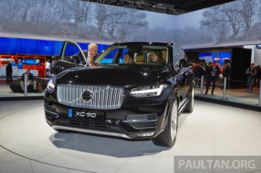 2015 Volvo XC90 – second-gen 7-seat SUV unveiled Image #277758
