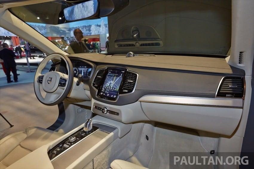 2015 Volvo XC90 – second-gen 7-seat SUV unveiled Image #277761