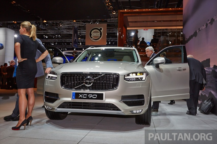 2015 Volvo XC90 – second-gen 7-seat SUV unveiled Image #277762