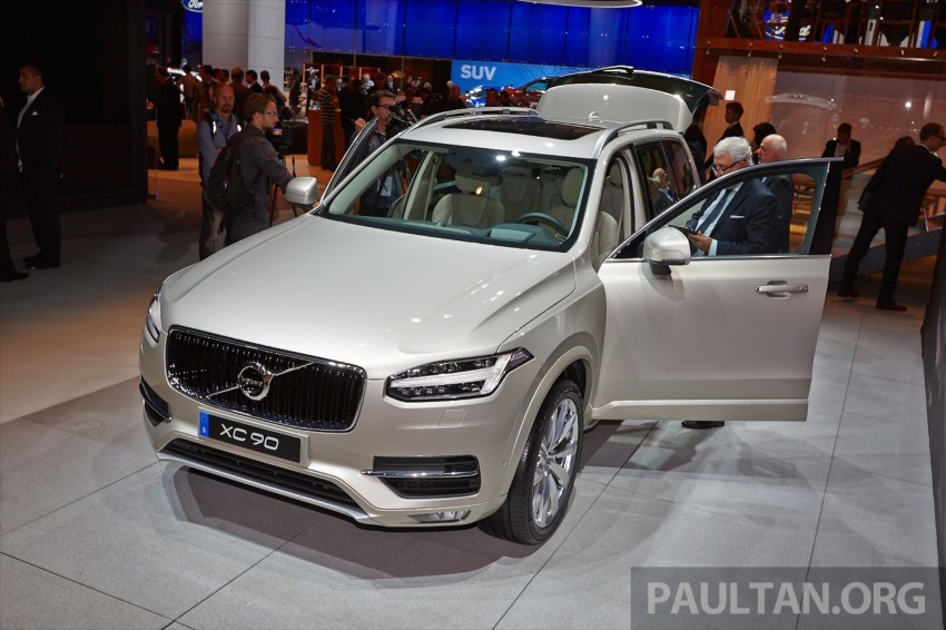 2015 Volvo XC90 – second-gen 7-seat SUV unveiled Image #277752