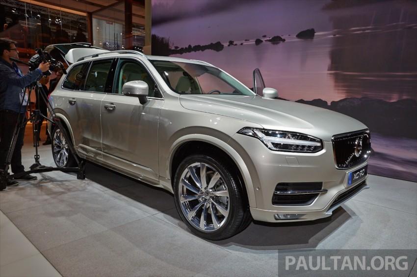 2015 Volvo XC90 – second-gen 7-seat SUV unveiled Image #277753