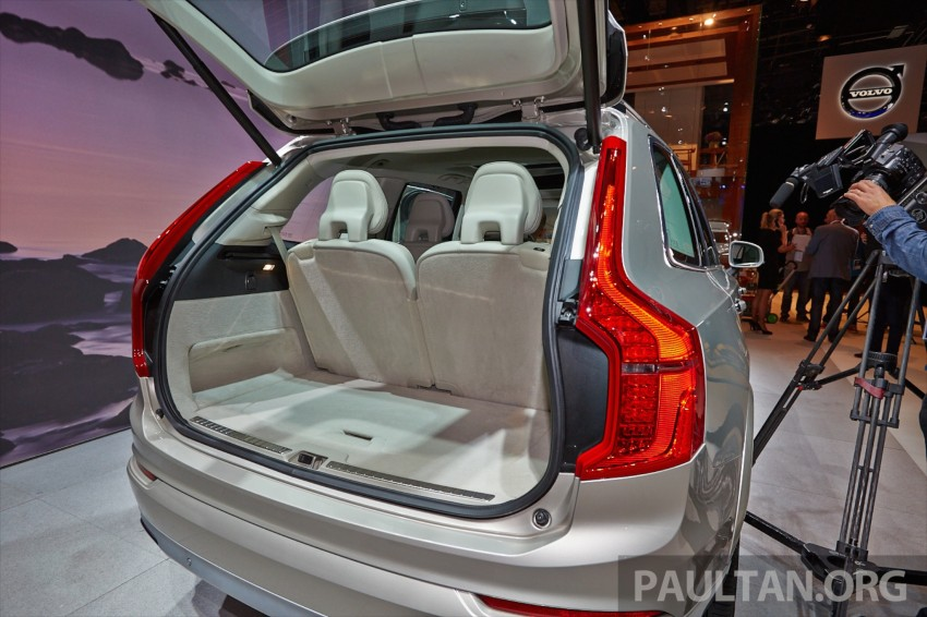 2015 Volvo XC90 – second-gen 7-seat SUV unveiled Image #277754