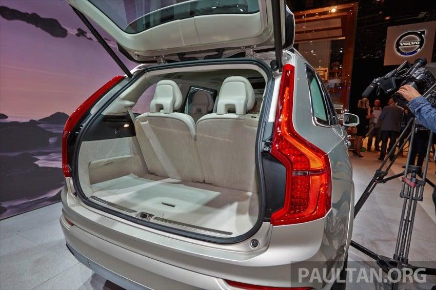2015 Volvo XC90 – second-gen 7-seat SUV unveiled Image #277754