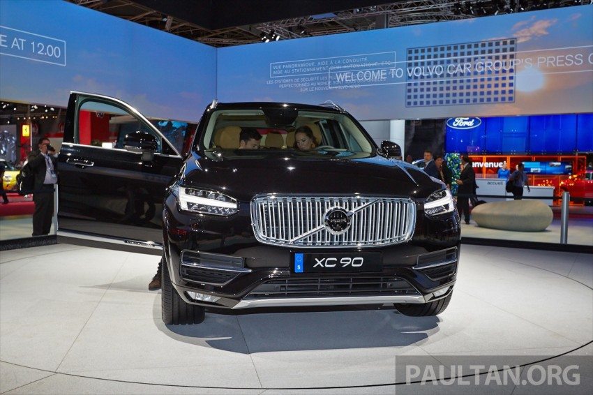 2015 Volvo XC90 – second-gen 7-seat SUV unveiled Image #277766