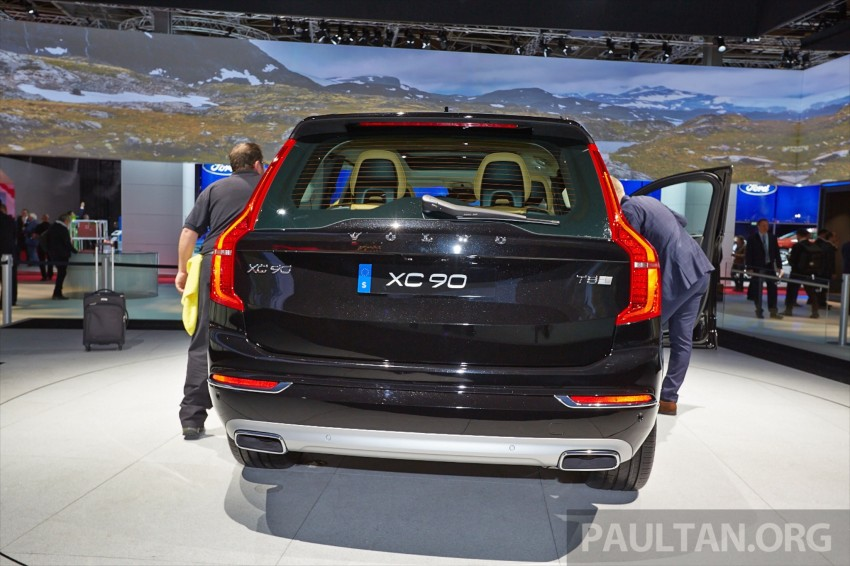 2015 Volvo XC90 – second-gen 7-seat SUV unveiled Image #277767
