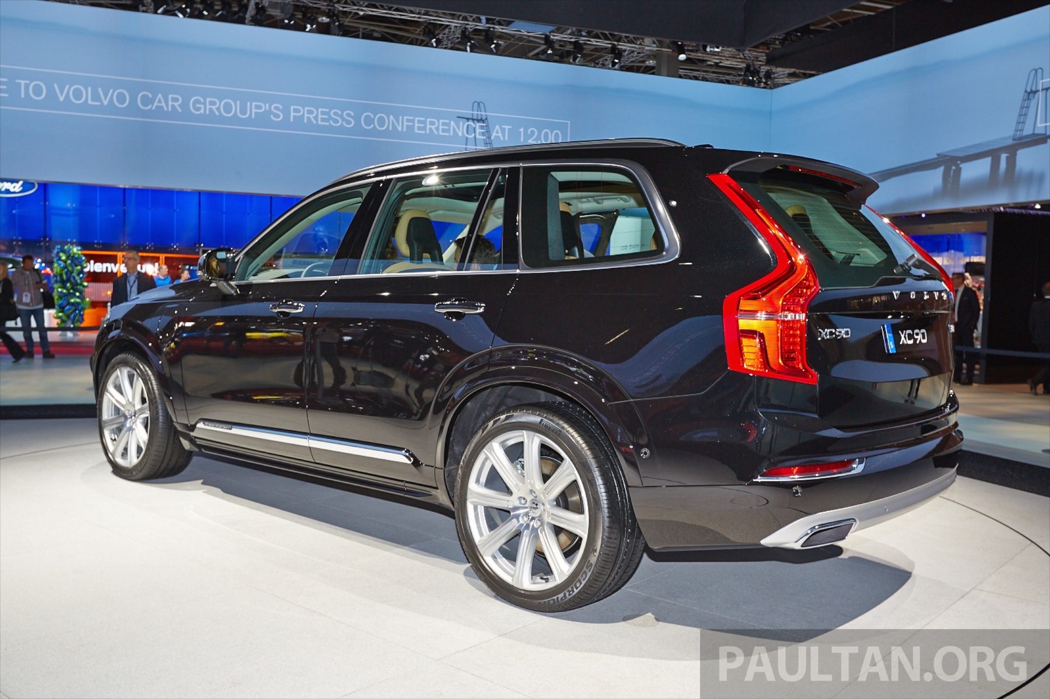 2015 Volvo Xc90 Second Gen 7 Seat Suv Unveiled Image 277769