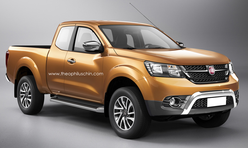 Fiat signs MoU with Mitsubishi to develop pickup truck Image 273112