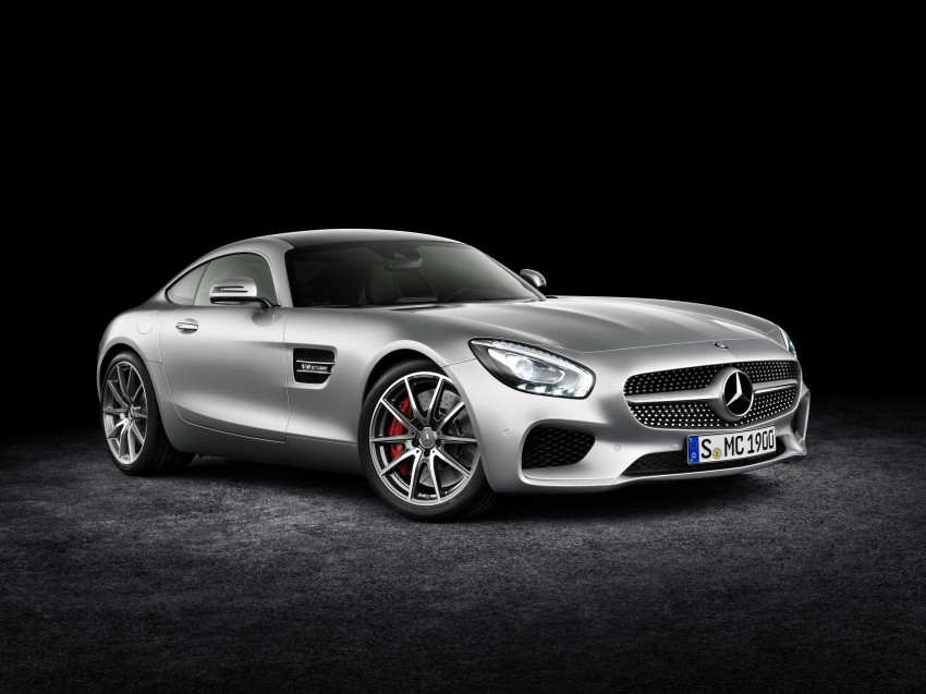 Mercedes-AMG GT – the 911 fighter is finally revealed Image #270391