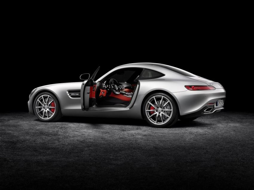 Mercedes-AMG GT – the 911 fighter is finally revealed Image #270396