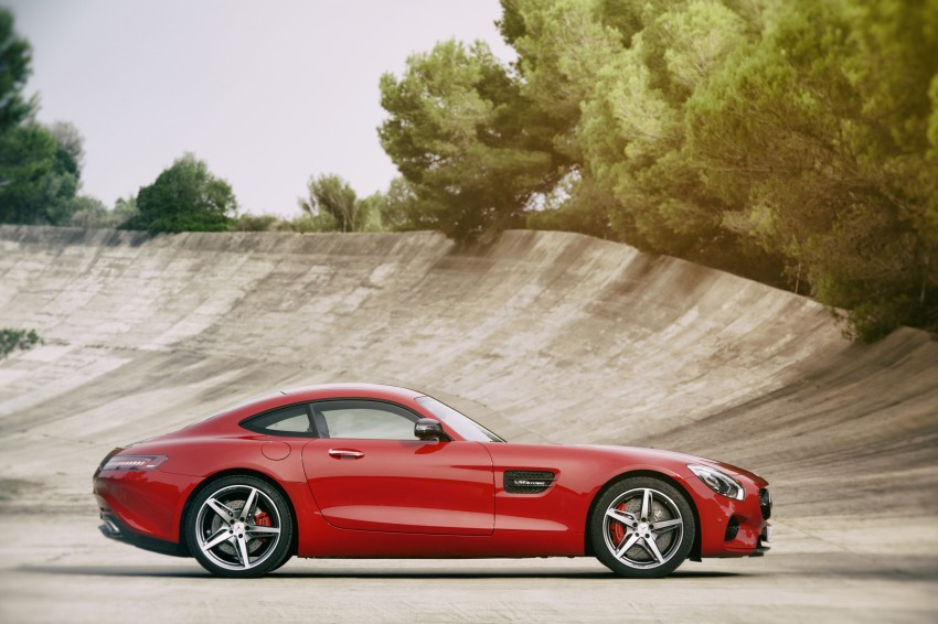 Mercedes-AMG GT – the 911 fighter is finally revealed Image #270414