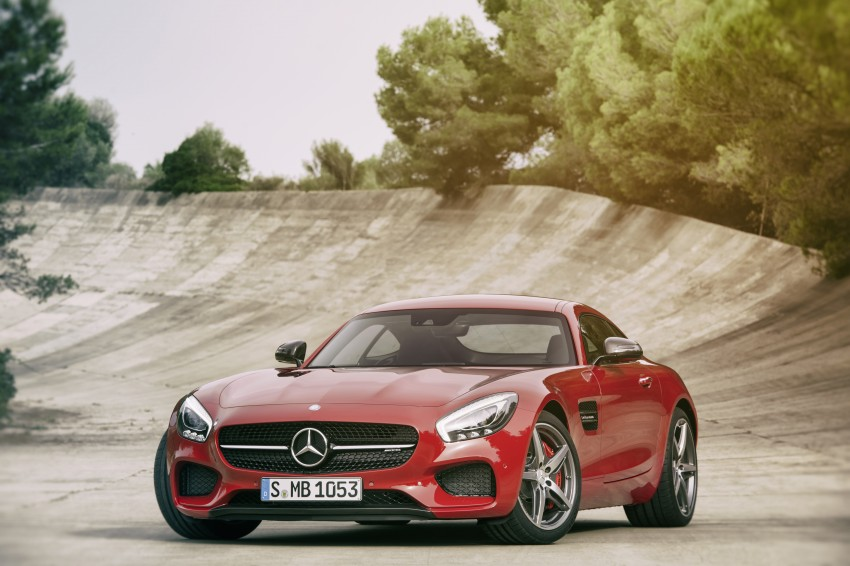 Mercedes-AMG GT – the 911 fighter is finally revealed Image #270417