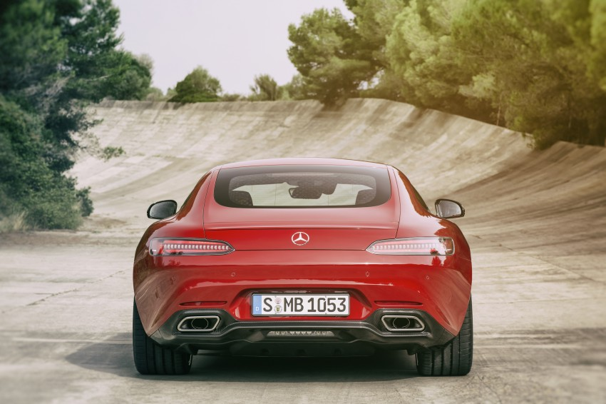 Mercedes-AMG GT – the 911 fighter is finally revealed Image #270448