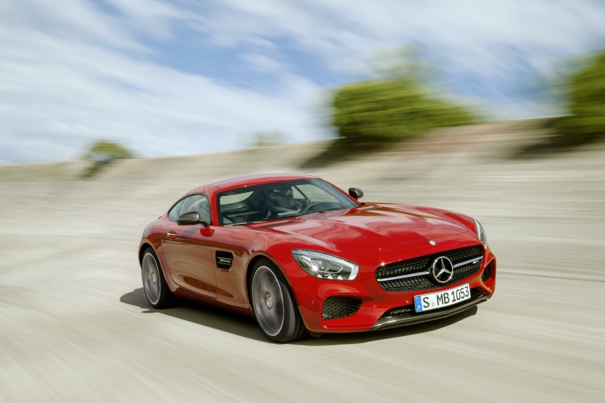 Mercedes-AMG GT – the 911 fighter is finally revealed Image #270449