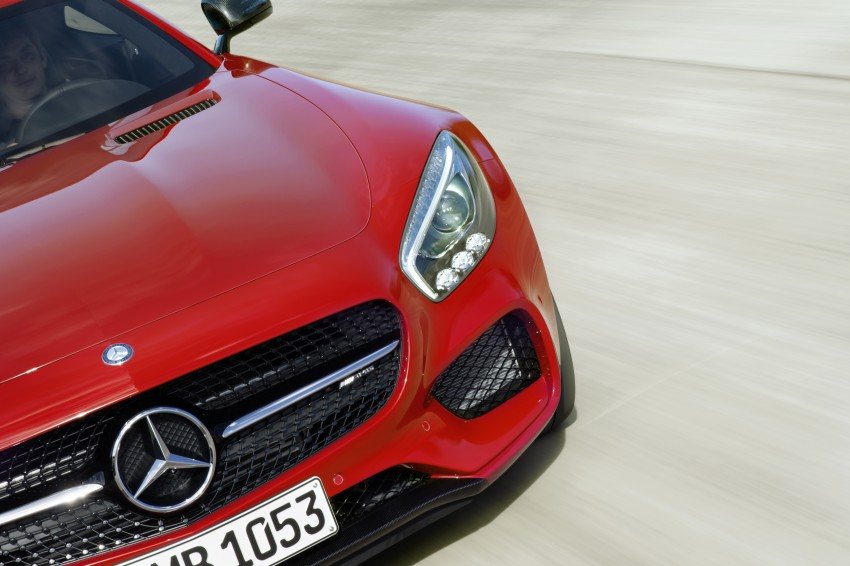 Mercedes-AMG GT – the 911 fighter is finally revealed Image #270450