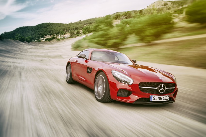 Mercedes-AMG GT – the 911 fighter is finally revealed Image #270452