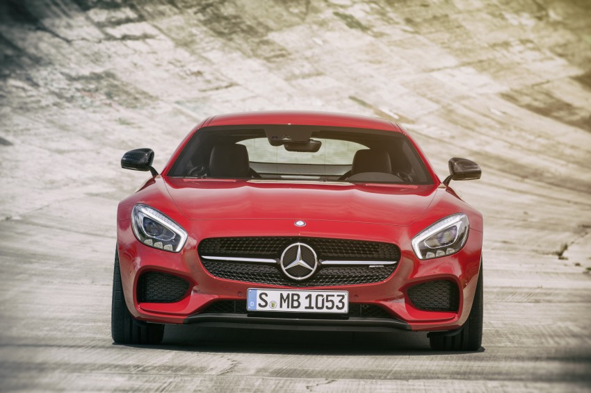 Mercedes-AMG GT – the 911 fighter is finally revealed Image #270453