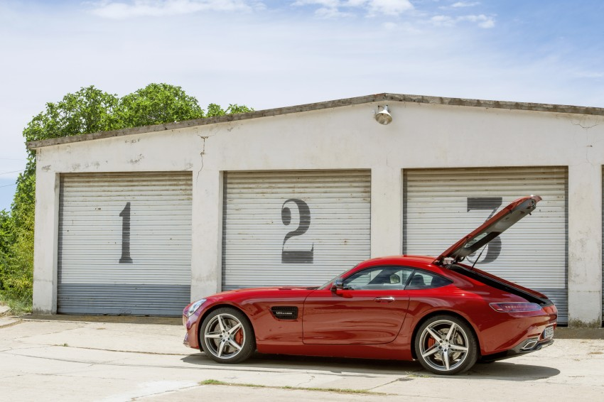 Mercedes-AMG GT – the 911 fighter is finally revealed Image #270477