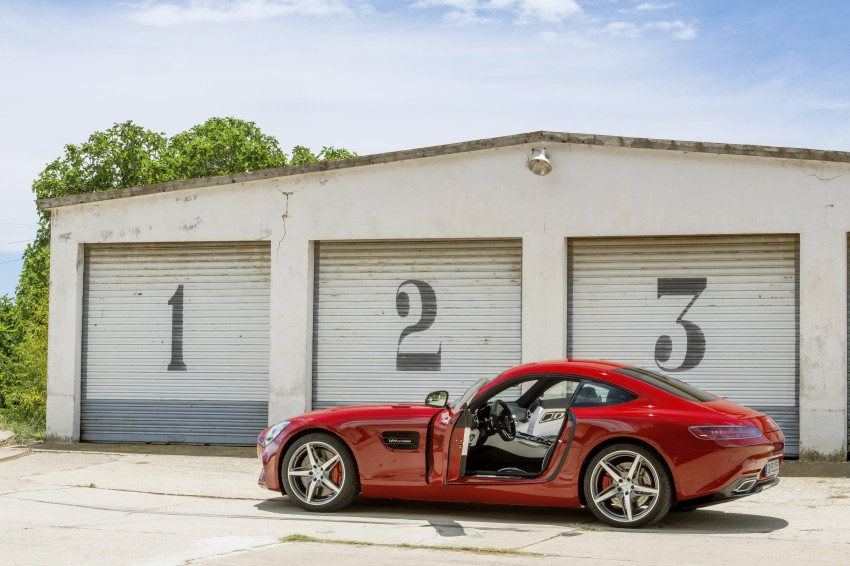 Mercedes-AMG GT – the 911 fighter is finally revealed Image #270478