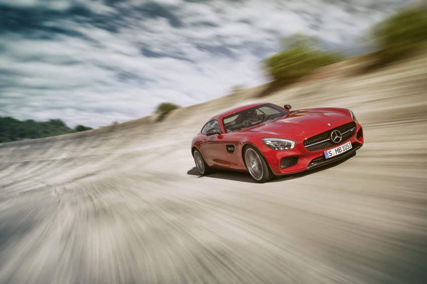 Mercedes-AMG GT – the 911 fighter is finally revealed Image #270457