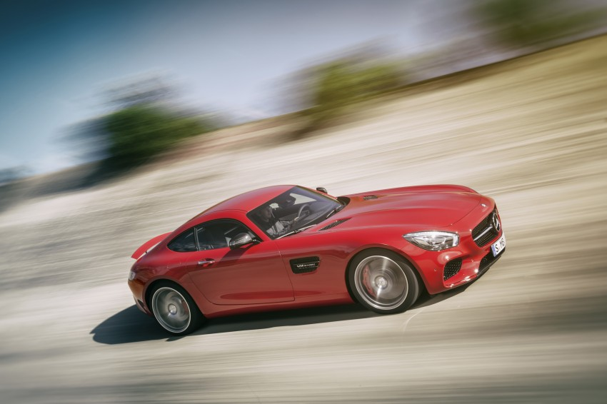 Mercedes-AMG GT – the 911 fighter is finally revealed Image #270458