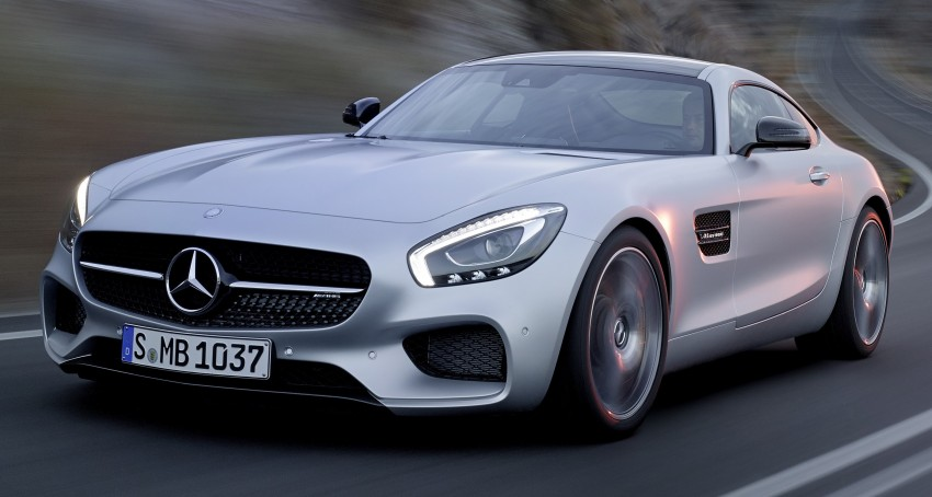 Mercedes-AMG GT – the 911 fighter is finally revealed Image #270426