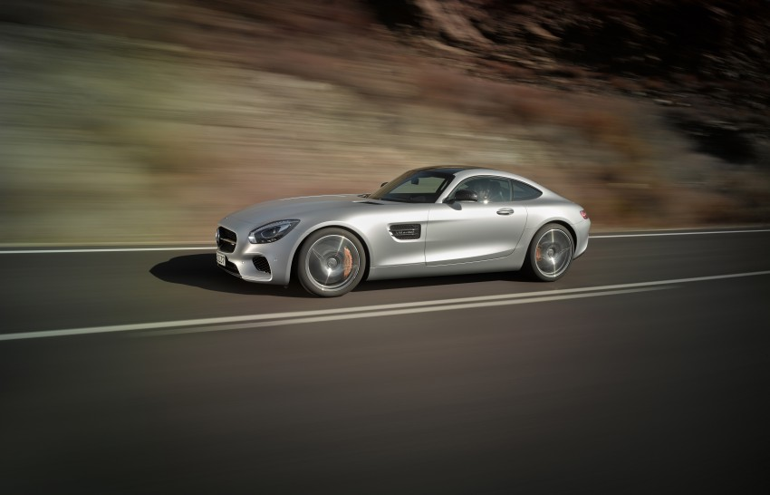 Mercedes-AMG GT – the 911 fighter is finally revealed Image #270434