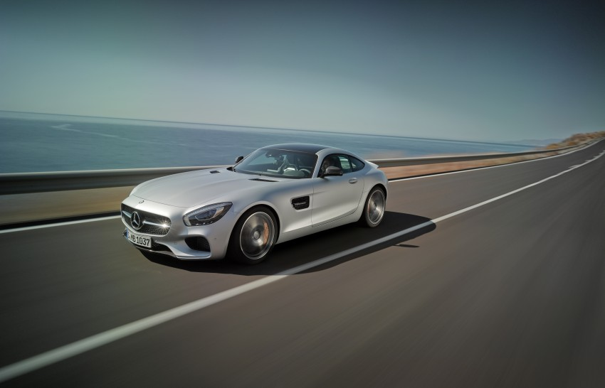 Mercedes-AMG GT – the 911 fighter is finally revealed Image #270435