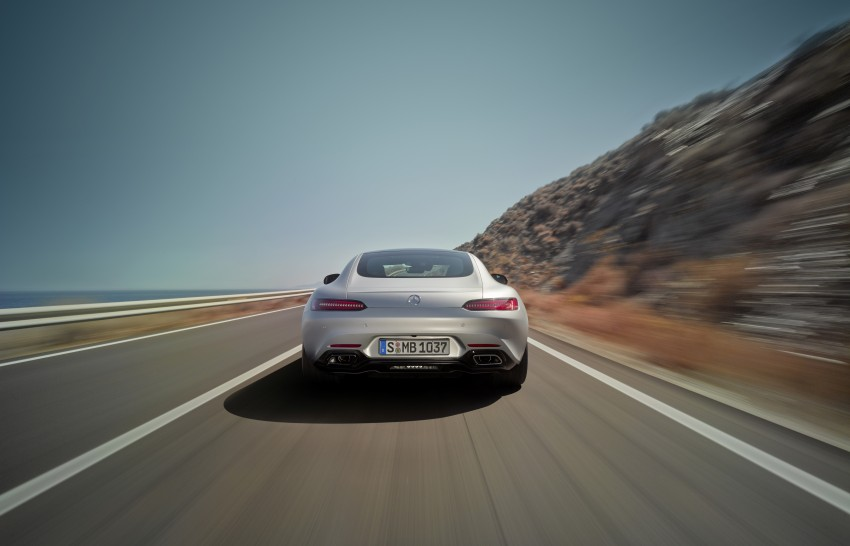 Mercedes-AMG GT – the 911 fighter is finally revealed Image #270436