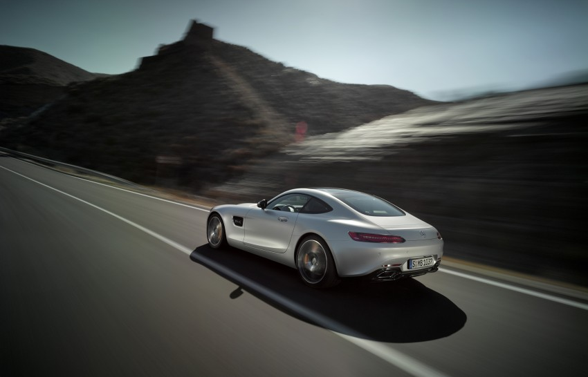 Mercedes-AMG GT – the 911 fighter is finally revealed Image #270437