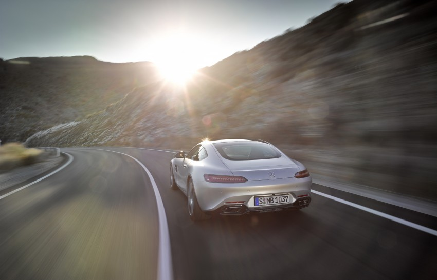 Mercedes-AMG GT – the 911 fighter is finally revealed Image #270438